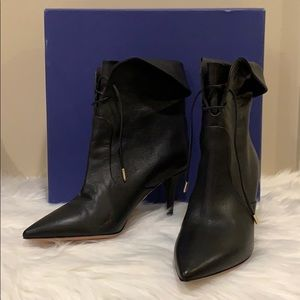 Aquazzura Firenze tribeca black boot